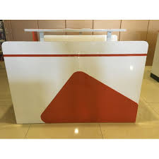 Salon Reception Desk Nail Salon Reception Desk Painted Finished Acetone Proof Spa Table