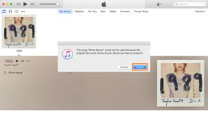 what to do when itunes can u0027t locate your music files