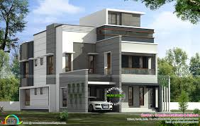 311 sq yd modern contemporary 5 bedroom house kerala home design