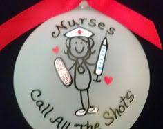 Nurse Christmas Ornament - bsn gift for nurse nurse ornament nursing by peartreepersonal