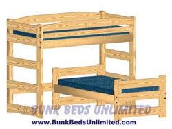 Bunk Bed L Shape Hardware Kit For Bunk Bed L Shape