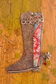 cowboy boot ornament teresa rito