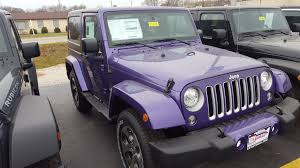 purple jeep jeep wrangler sahara in illinois for sale used cars on