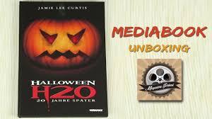 halloween h20 mediabook unboxing youtube