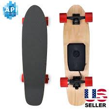 electric skateboard 350w hub motor bluetooth remote maple deck