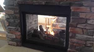 montigo h38fsd see thru log option by colorado custom fireplace