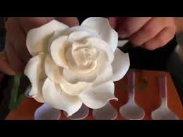 245 best dec flowers fondant how to make images on pinterest