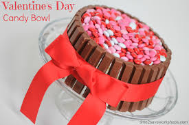 cute valentine u0027s day ideas diy candy bowl kasey trenum