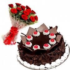 same day chocolate delivery bokaro cake sameday delivery chocolate cake and roses combo