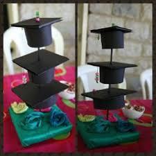 graduation cap centerpieces cap centerpieces