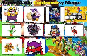 Super Mario Memes - luigifan s super mario controversy meme by luigifan00001 on deviantart