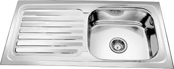 Single Kitchen Sinks by Kitchen Sink With Drainboard For Make Easy To Wash Kitchen