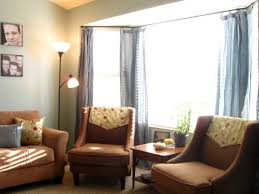 Bay Window Curtains For Living Room Treating The Bay Window With The Best Living Room Curtain