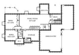 floor plans for basements contemporary ranch house plans home design edc r2112 6553