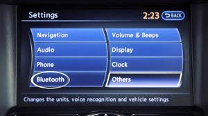 2013 infiniti ex bluetooth streaming audio if so equipped