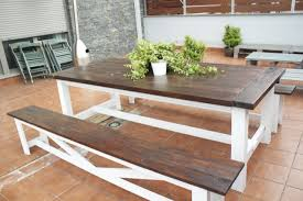 Free Wooden Picnic Table Plans by Picnic Table Plans Free And Fancy Woodwork City Free
