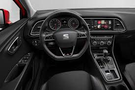sensibly racy u0027 seat leon fr technology independent new review