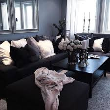 black and gray living room living room gray living rooms room ideas glam with black couches