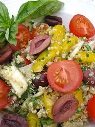 Mediterranean Vegan Kitchen - mediterranean quinoa salad the keen kitchen