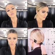bungees hair get the look khloe s bungee cord ponytail