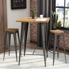 trent design pub tables bistro trent design claremont 3 pub table set reviews