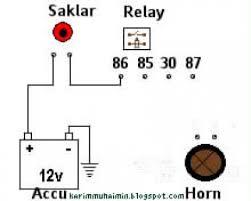 cimoh karim muhaimin cara merangkai horn klakson dengan relay