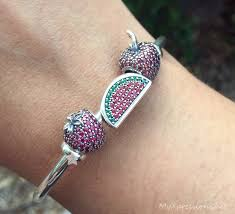 pandora bangle bracelet with charm images Review pandora open bangle my xpressions jpg