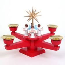 german pyramid wooden candle powered carousel candle
