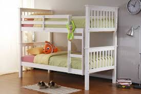 White Wooden Bunk Bed Amazing White Wooden Bunk Beds Latitudebrowser For Popular