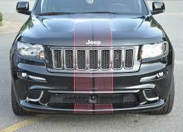 custom jeep red jeep cherokee srt u2013 printed red diamond plate racing stripes with