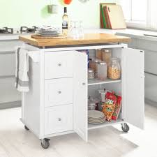kitchen island trolley sobuy large kitchen island trolley cart storage cabinet bamboo