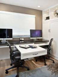 Home Office Desks For Two Two Person Desk Design For Your Wonderful Home Office Area Wall