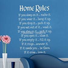 Home Decor Quotes by Writing Wall Art Shenra Com