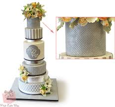 wedding cake icing visual glossary of cake terms pink cake box