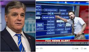 Conspiracy Meme - sean hannity s clinton conspiracy theory board is a meme dream