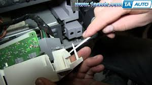 how to install replace ac heater control panel 1995 99 chevy tahoe