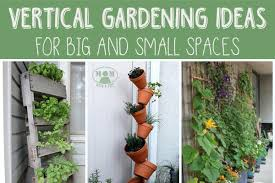 Vertical Garden Ideas - vertical gardening for big or small spaces mom with a prep