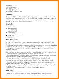 Business Analyst Resume Entry Level Resume Finance Analyst Essay Line Item Veto