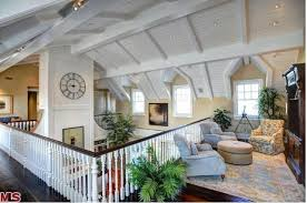 Cape Cod House Interior Design Howie Mandel U0027s Cape Cod In Malibu Upstairs Loft Hooked On Houses