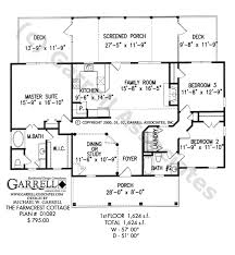farmcrest cottage house plan house plans by garrell associates inc