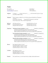 resume template impressive mycvfactory formats templates w peppapp