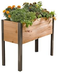standing garden contemporary outdoor pots and planters by