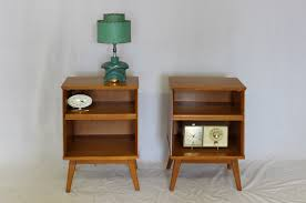 Mid Century Nightstands Furniture Mid Century Nightstand With Danish Modern Nightstand