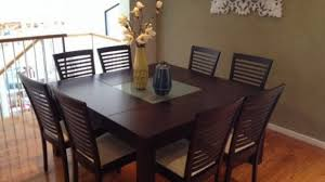 8 Seater Dining Tables And Chairs Alluring Dining Table 60 Square Seats 8 Seater Patio Seat At