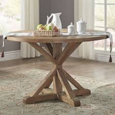 76 inch round dining table benchwright rustic x base 48 inch round dining table set by inspire