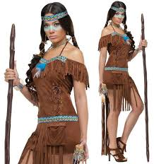 Native American Costumes Halloween Sale Custom Womens Native American Indian Halloween