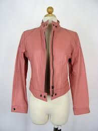 pink leather motorcycle jacket usa leather pink leather motorcycle jacket s u2013 ruby u0026 sofia