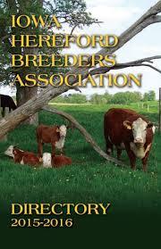 nebraska hereford association 2017 membership directory by