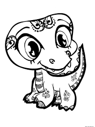 coloring pages littlest pet shop printable coloring book for kids