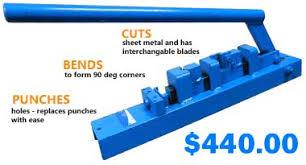 Bench Punch Press Punch Tools Multi Purpose Hanger Board Bench Top Press Sheet